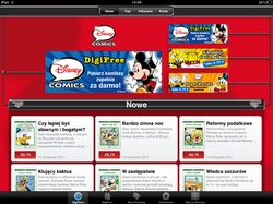 Disney Comics ipad