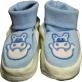 buciko-skarpetki niemowlęce krówka błękitny r.56