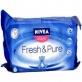 Chusteczki pielęgnacyjne wkład 63 x 3 + 1 gratis PURE & FRESH, Nivea Baby