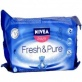 Chusteczki pielęgnacyjne wkład 2 x 63 PURE & FRESH, Nivea Baby