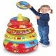 Nadmuchiwana edukacyjna piramida z miękkimi kółeczkami Play WOW