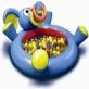 Nadmuchiwany basen z 20 piłeczkami - Słonik Play WOW